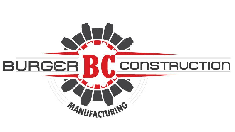 Logo design burger construction