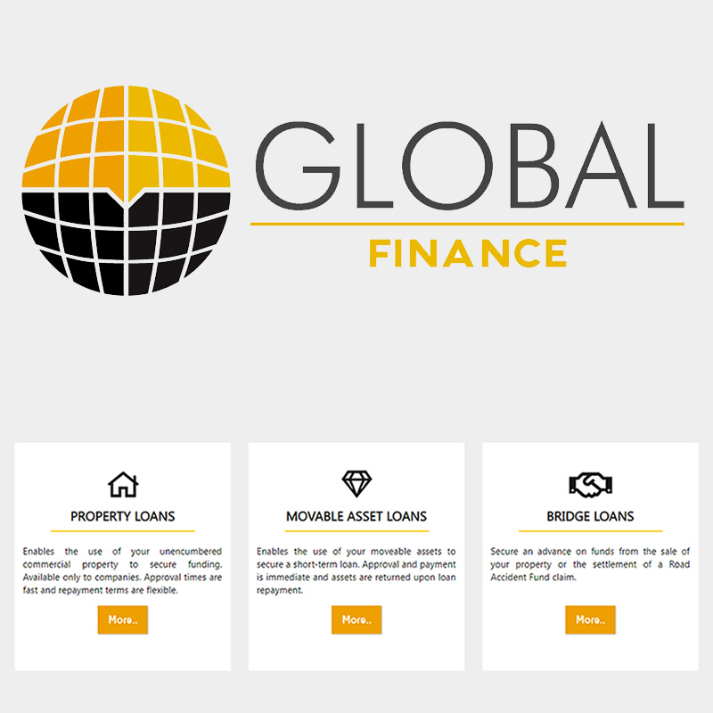 Logo and Icon Design - Global Finance