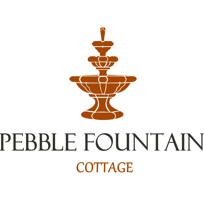 Logo Design Pebble Fountain