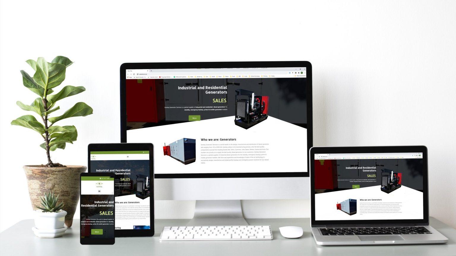 Website designs 2020 Genteq