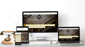 Website designs 2020 Hobbit Boutique Hotel