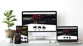 Website designs 2020 Salleys Yamaha